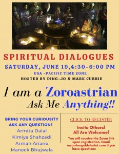 I Am A Zoroastrian Ask Me Anything 06192021