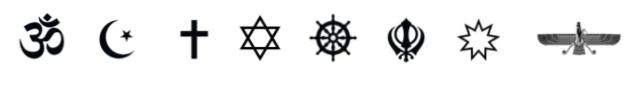 Logos of Religions